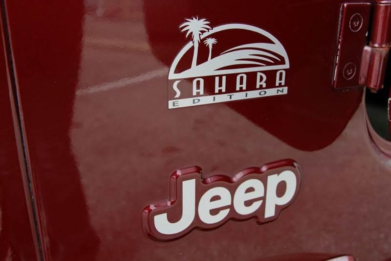 2003 Jeep Wrangler Sahara 4WD 2dr SUV - St. Charles MO