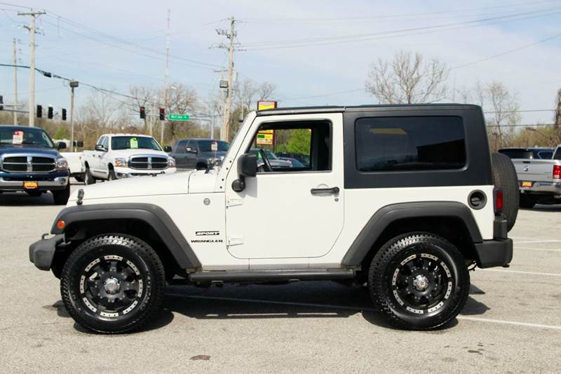2010 Jeep Wrangler 4x4 Sport 2dr SUV - St. Charles MO