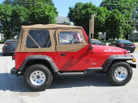 used 1997 jeep wrangler for sale. Black Bedroom Furniture Sets. Home Design Ideas