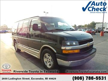 2004 Chevrolet Express Passenger for sale in Escanaba, MI