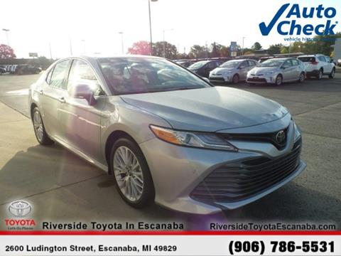 2018 Toyota Camry for sale in Escanaba, MI