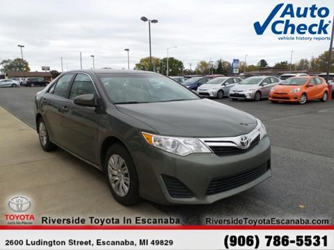 2013 Toyota Camry for sale in Escanaba, MI
