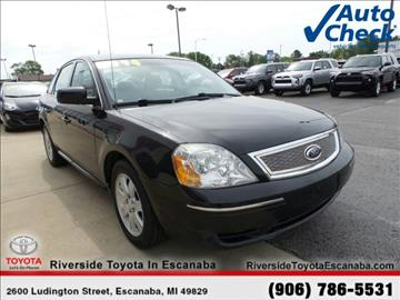 2007 Ford Five Hundred for sale in Escanaba, MI