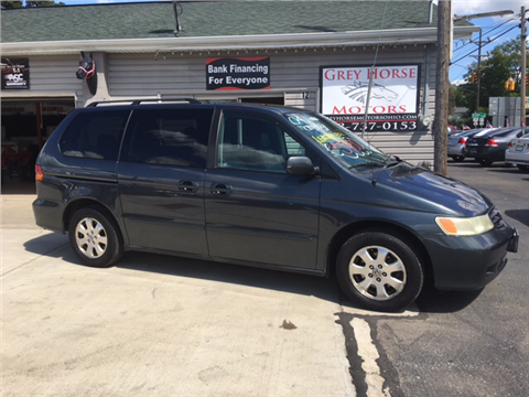 2004 honda odyssey for sale vermont. Black Bedroom Furniture Sets. Home Design Ideas