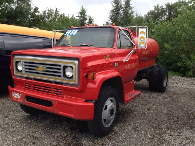 1984 Chevrolet 60 Tanker Truck
