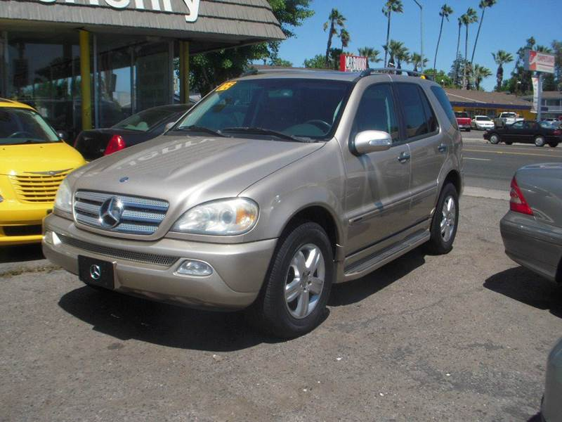 2005 Mercedes Benz M Class Ml350 Awd 4matic 4dr Suv In