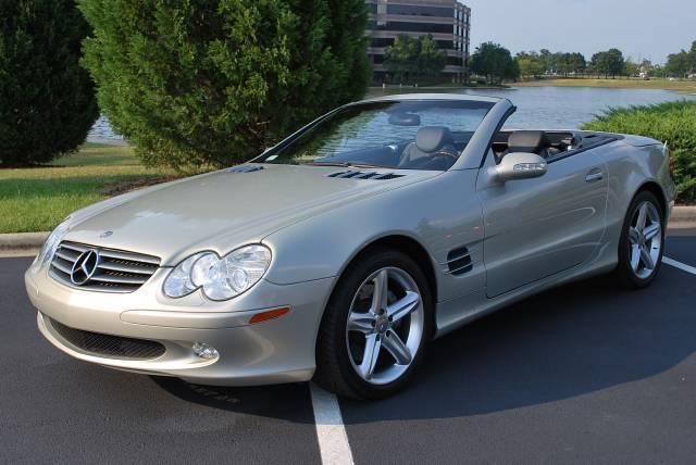 2003 mercedes benz sl class sl500 designo birmingham al for Mercedes benz birmingham alabama