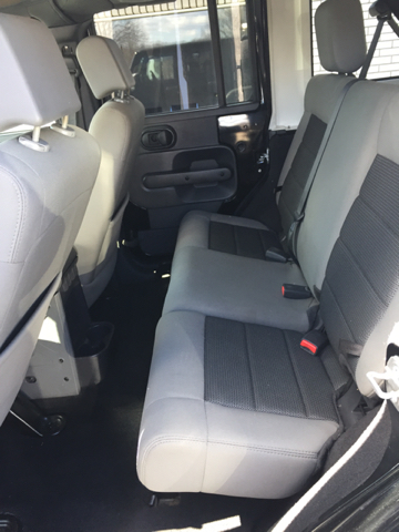2010 Jeep Wrangler Unlimited 4x4 Sport 4dr SUV - Johnston RI