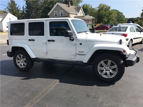 2016 Jeep Wrangler Unlimited for sale in Johnston, RI