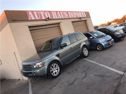 2007 Land Rover Range Rover Sport for sale in Grand Prairie, TX
