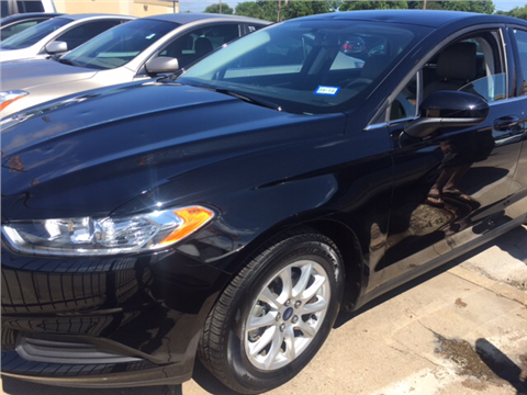 2016 Ford Fusion for sale in Grand Prairie, TX