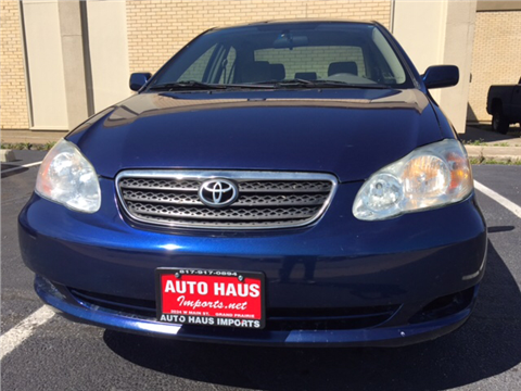 2007 Toyota Corolla for sale in Grand Prairie, TX