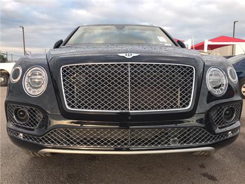 2017 Bentley Bentayga W12 for sale in Grand Prairie, TX