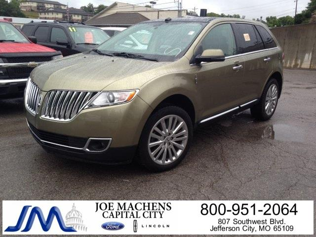 2013 Lincoln MKX for sale in JEFFERSON CITY MO