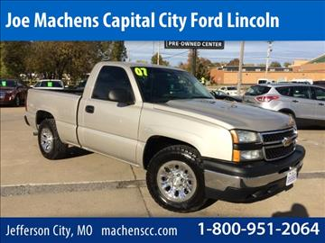 Joe Machens Used >> Chevrolet Silverado 1500 For Sale Jefferson City, MO ...