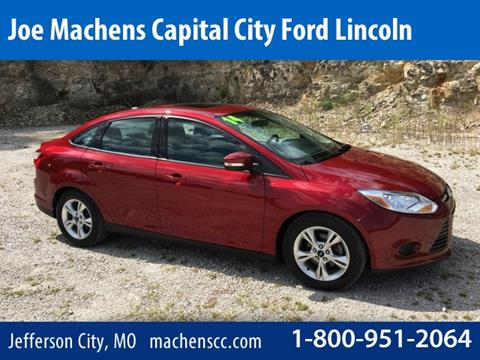 2014 ford focus for sale in jefferson city mo. Black Bedroom Furniture Sets. Home Design Ideas