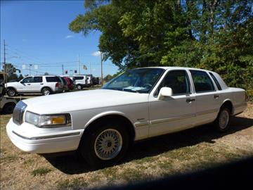 1997 Lincoln Town Car for sale in Huntsville, AL