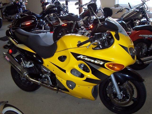 2004 Suzuki GSX 600F