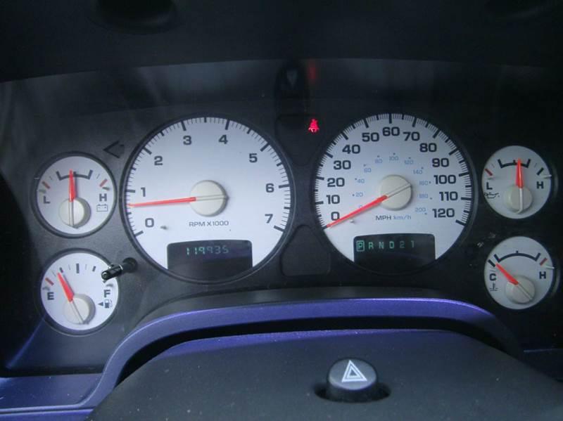 2002 Dodge Ram Pickup 1500 2dr Regular Cab SLT 2WD LB - Murfreesboro TN