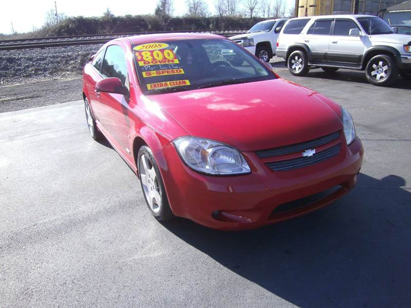 2008 chevrolet cobalt sport 2dr coupe in murfreesboro tn for Discount motors jacksboro hwy inventory