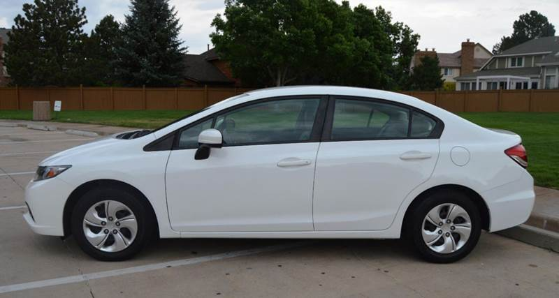 2014 Honda Civic LX 4dr Sedan CVT - Glendale CO