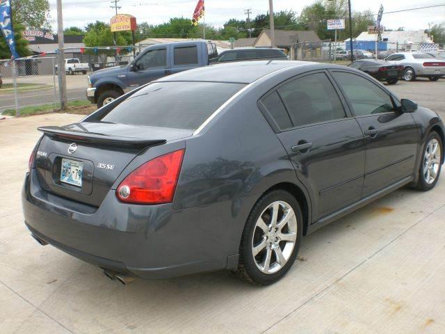 2007 Nissan Maxima 3.5 SE 4dr Sedan - Oklahoma City OK