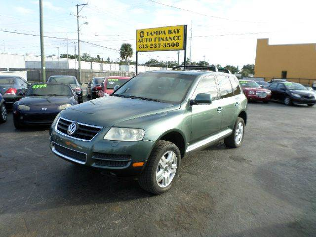 Jeep Dealer Anchorage 2004 Volkswagen Touareg V8 AWD 4dr SUV In Tampa Brandon Clearwater ...
