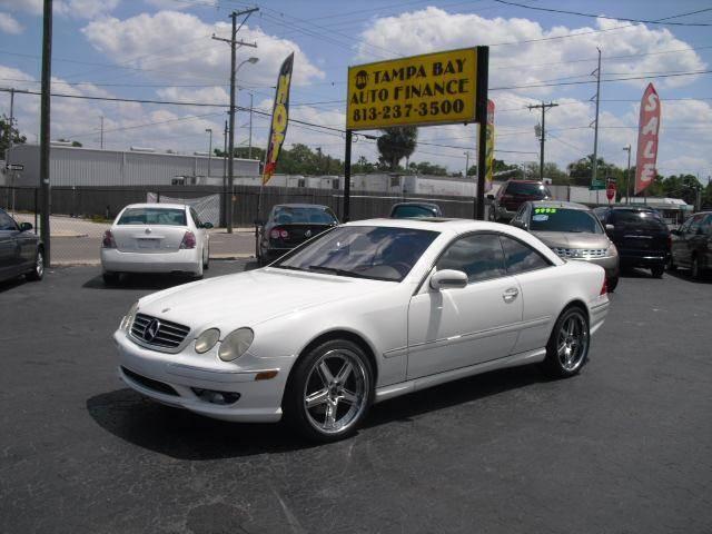2002 Mercedes Benz Cl Class Cl500 In Tampa Brandon