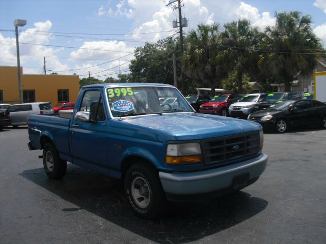 1992 Ford f150 4x4 curb weight