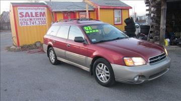 2002 Subaru Outback for sale in Salem, MA