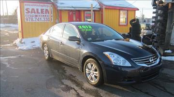 2012 Nissan Altima for sale in Salem, MA