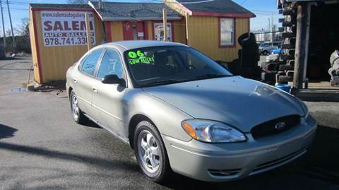2006 Ford Taurus for sale in Salem, MA