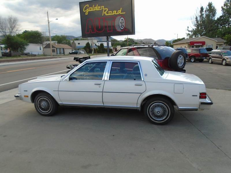 1985 buick skylark limited 4dr sedan in golden co golden. Black Bedroom Furniture Sets. Home Design Ideas