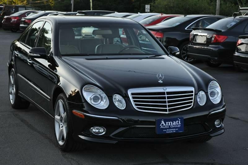 2009 mercedes benz e class awd e550 4matic 4dr sedan in. Black Bedroom Furniture Sets. Home Design Ideas