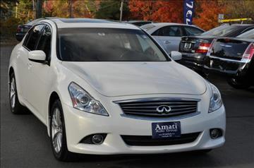 2012 Infiniti G25 Sedan for sale in Hooksett, NH