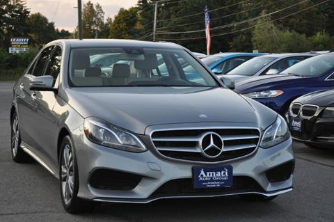 2014 Mercedes-Benz E-Class for sale in Hooksett, NH