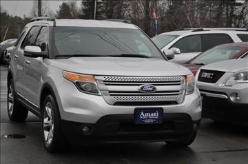 2013 Ford Explorer for sale in Hooksett, NH