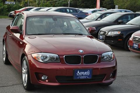 2012 BMW 1 Series for sale in Hooksett, NH