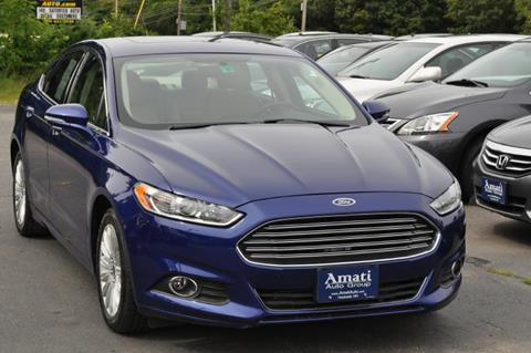 2013 Ford Fusion Hybrid for sale in Hooksett, NH