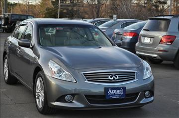 2012 Infiniti G25 Sedan for sale in Hooksett, NH