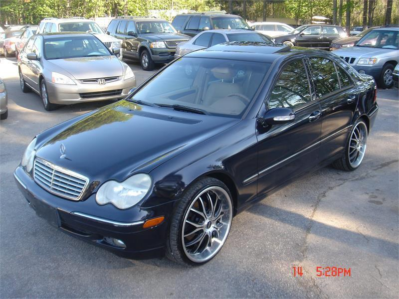 2004 mercedes benz c class awd c240 4matic 4dr sedan in raleigh nc classic performance auto inc. Black Bedroom Furniture Sets. Home Design Ideas