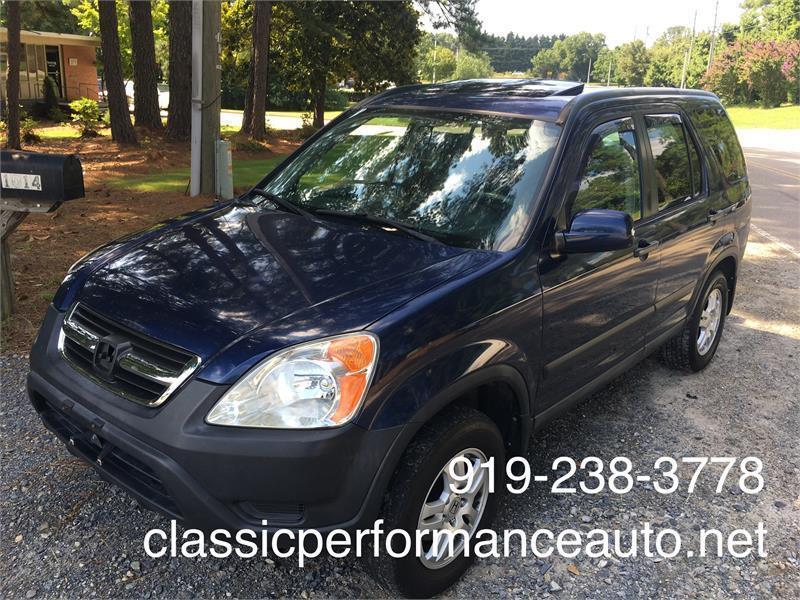 2004 Honda CR V AWD EX 4dr SUV   Raleigh NC