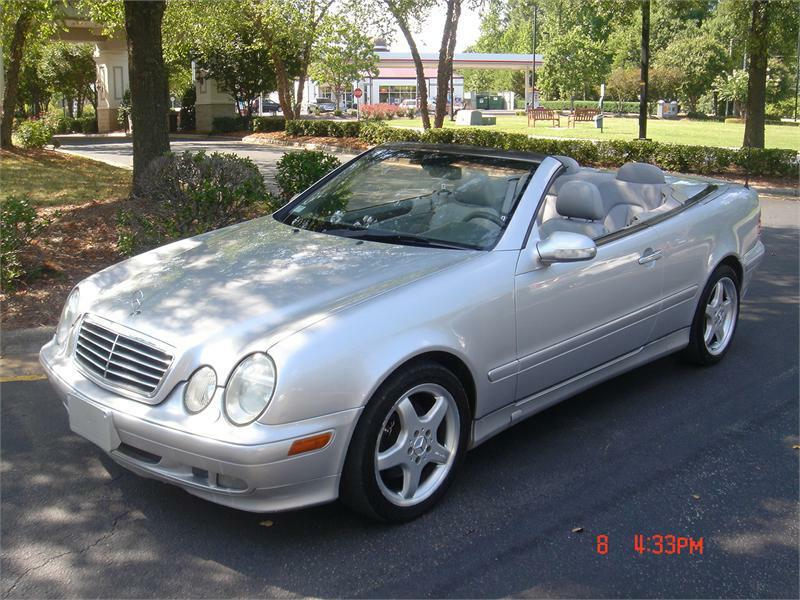 2003 mercedes benz clk class clk320 2dr cabriolet in for Mercedes benz of raleigh nc
