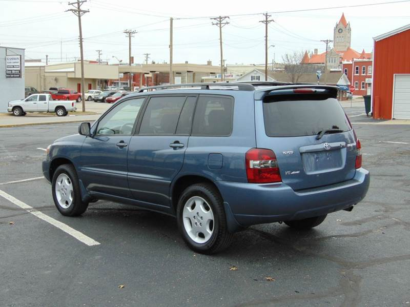 2005 toyota highlander awd limited 4dr suv w 3rd row in nevada mo randy bland used cars. Black Bedroom Furniture Sets. Home Design Ideas
