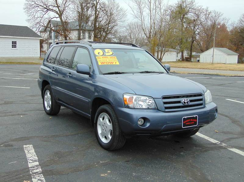 2005 toyota highlander limited awd 4dr suv w 3rd row in nevada mo randy bland used cars. Black Bedroom Furniture Sets. Home Design Ideas