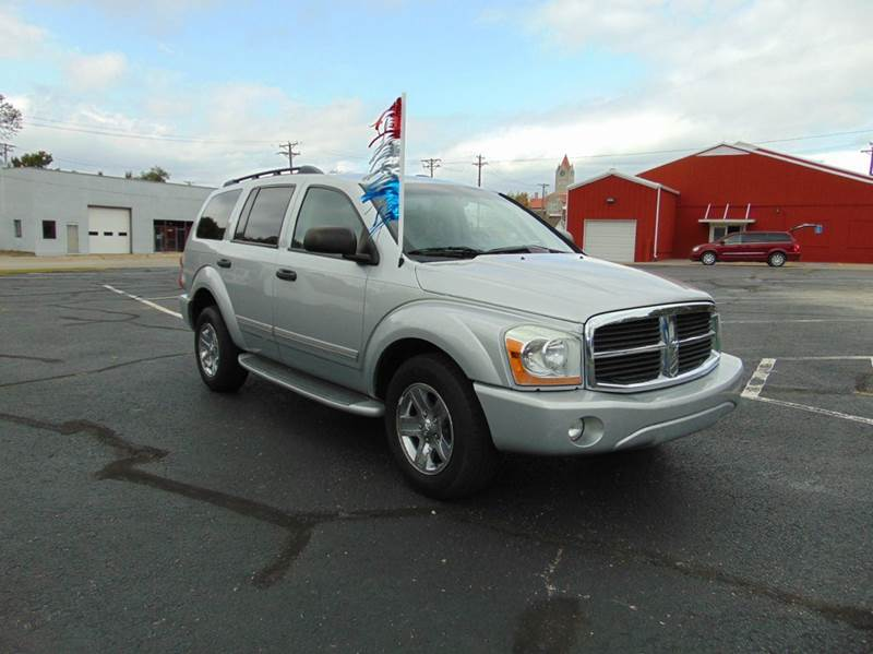 2005 dodge durango limited 4wd 4dr suv in nevada mo. Black Bedroom Furniture Sets. Home Design Ideas