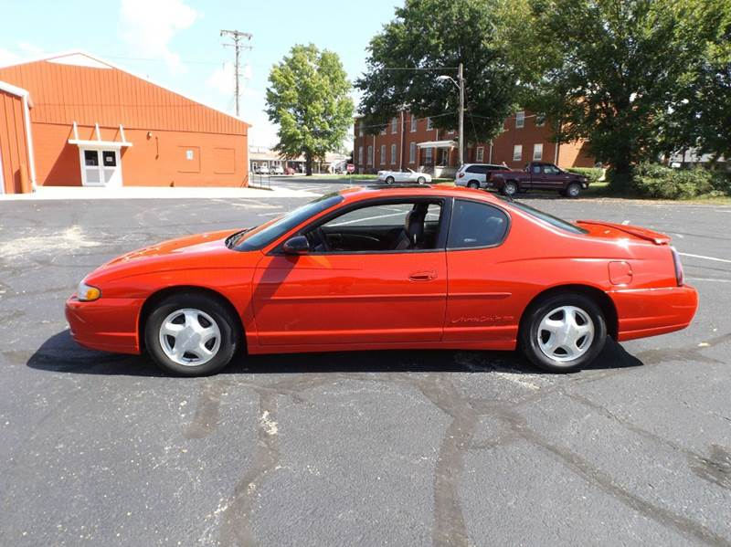 2002 chevrolet monte carlo ss 2dr coupe in nevada mo. Black Bedroom Furniture Sets. Home Design Ideas