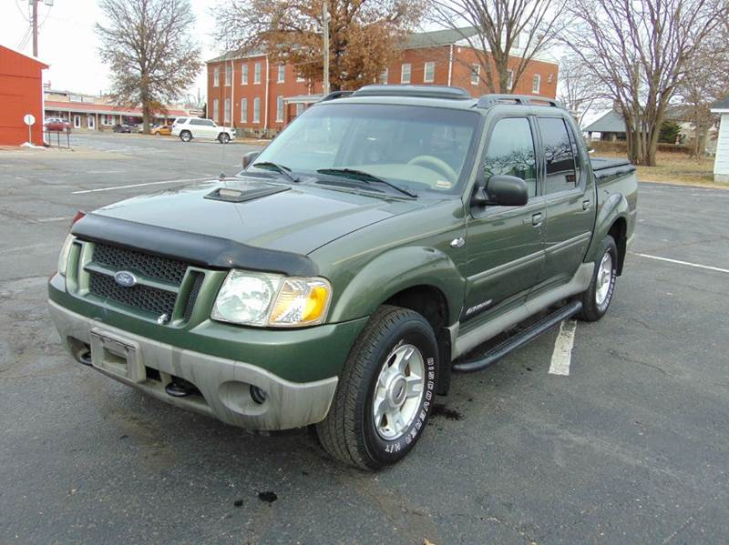 2001 ford explorer sport trac 4dr crew cab sb 2wd in nevada mo randy bland used cars. Black Bedroom Furniture Sets. Home Design Ideas