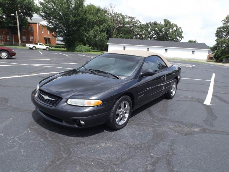 1999 chrysler sebring jxi 2dr convertible in nevada. Black Bedroom Furniture Sets. Home Design Ideas