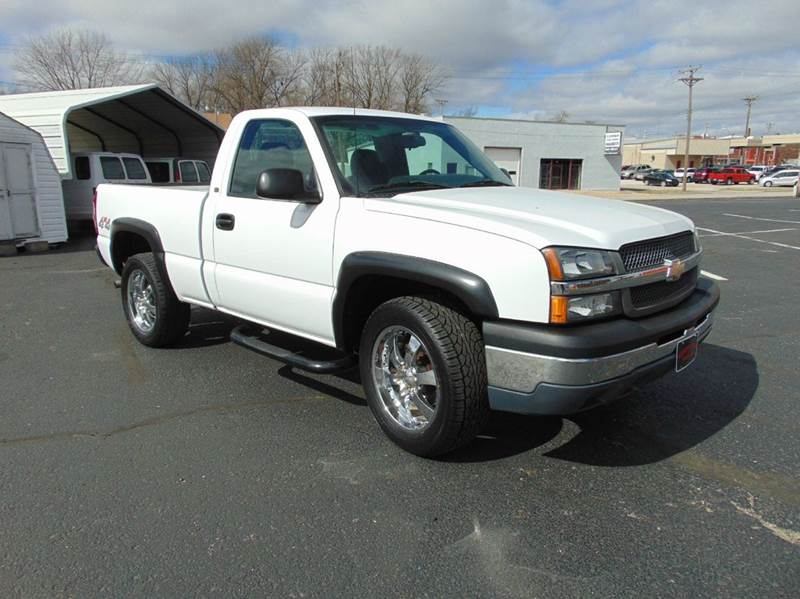 2005 chevrolet silverado 1500 2dr regular cab work truck 4wd sb in nevada mo randy bland used cars. Black Bedroom Furniture Sets. Home Design Ideas